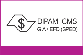 DIPAM ICMS - GIA / EFD (SPED)